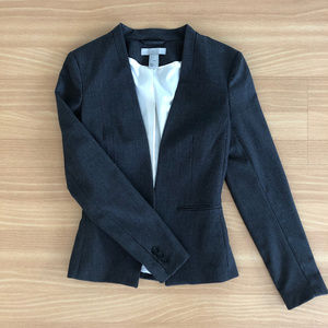 NWOT H&M Charcoal Gray Blazer Jacket